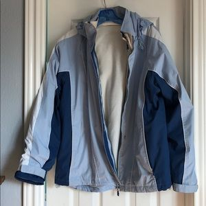 St Johns Bay Large 2 piece Jacket. 3 jackets in 1
